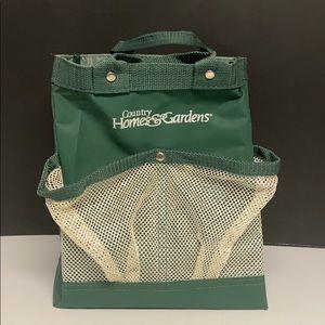 Country Homes & Gardens Tool Bag Green Nylon
